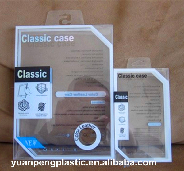 Wholesale phone cover Clear plastic Folded boxes Packaging