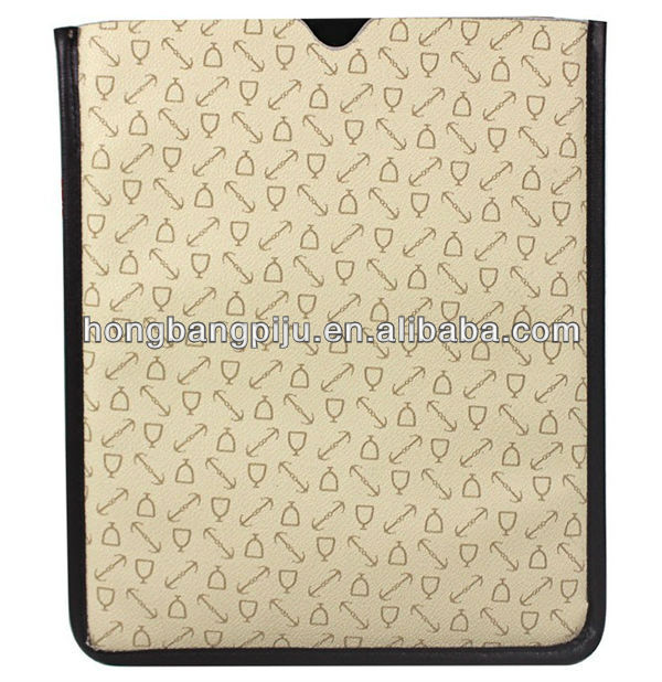 Genuine Leather Sleep holster for ipad 2