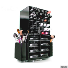 Custom counter top rotating acrylic lipstick holder