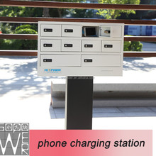 10 comp locker 2015 best selling cell phone charging station mobile phone charging station multi phone charging station