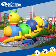 inflatable bouncer castle, inflatable Caterpillar Tunnel