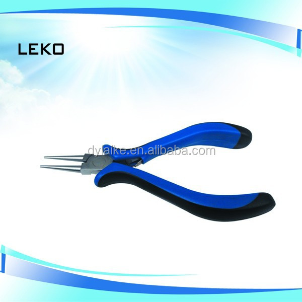 Box Joint Plastic Round Nose Pliers