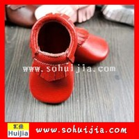 Free shipping Very Cute Red Flower Princess soft baby shoes for girl baby shoe 3 size to choose Free shipping