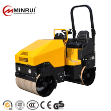 Hot sale 1 ton road roller earth compactor for wholesales