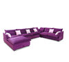 2016 The Newest quality fabric purple match fabric sofa S051