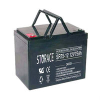 VRLA AGM Battery 12v75ah