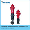 1.2m iron Outdoor outsiade fire fighting hydrant