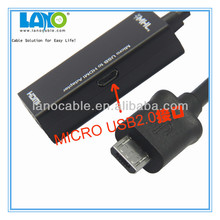High Resolution HDMI to USB 2.0 Capture Cable USB to HDMI Adapter Made in China