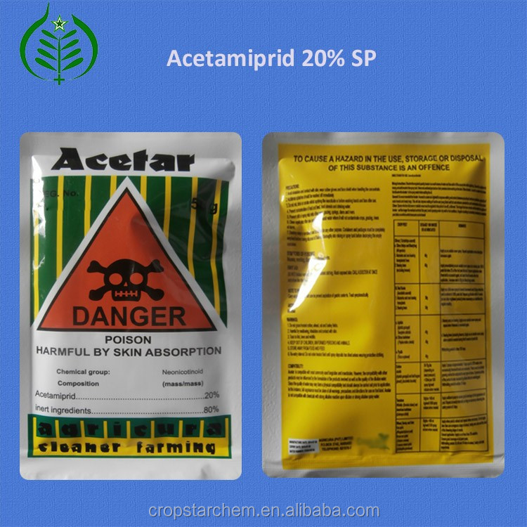 Good Price of Powder State Insecticide Acetamiprid Insecticide 20% SP in Insecticides (CAS 135410-20-7)