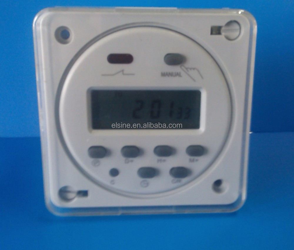 7 Days Programmable Digital Timer for controlling Systems (CN101A,THC101,CN303)