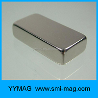 Custom block magnet of ndfeb for sale