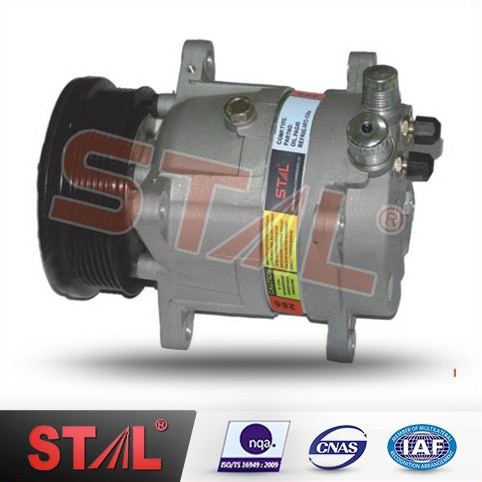 Auto Part Air Conditioning Compressor v5 6pk/pv6 12v