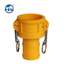 Camlock Nylon coupling type C, quick coupling China manufacture