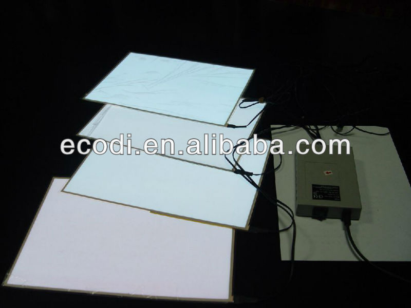 wholesale El Paper pink Thin Backlight led panel With High Vision