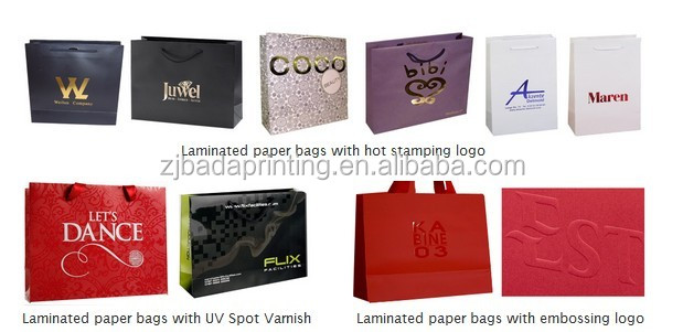 New style paper bag, gift bag, packing bag, shopping paper bag