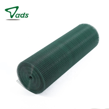1/4 x 1/4 10x10 pvc coated reinforcing welded wire mesh roll