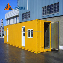 luxury and low living underground container house with wheels made in china