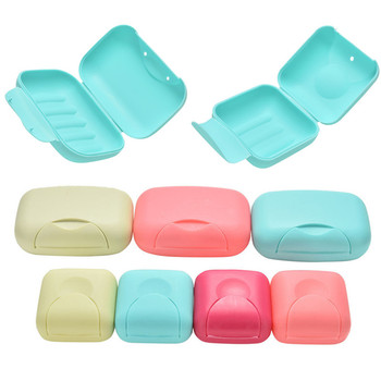 Kawaii Size S L Travel Colorful Soap Box Dish Plate Case Hiking Holder Useful Soap Box Container Bath Products