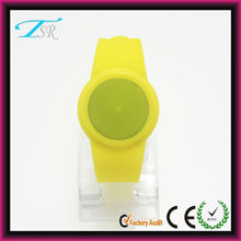 OEM manufacture custom design your own silicone vogue digital led watch