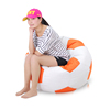 Kids Seat Round Football Shaped Beanbag Chair