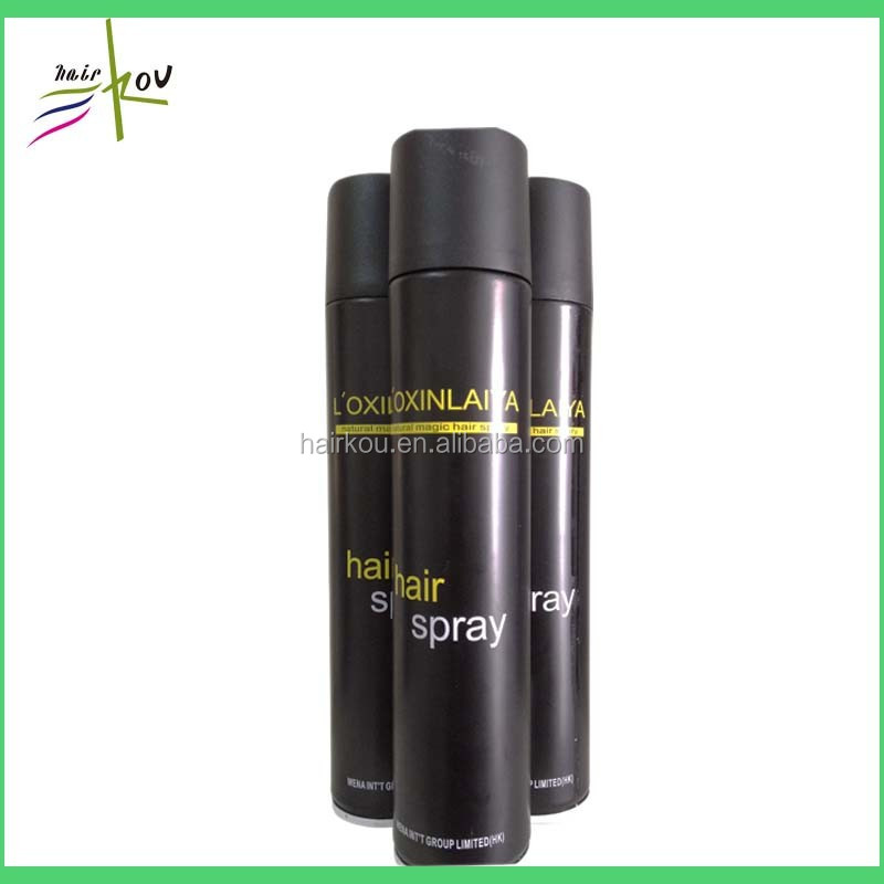 Professional hair styling products glitter hair spray wholesale