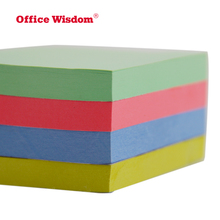 2018NingBo Office wisdom Top Quality Customized Promotion Custom made sticky note pad different color with Colorful Sticky Note