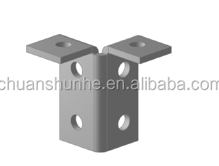 Hot dipped galvanized Plate Fitting / Channel accessories