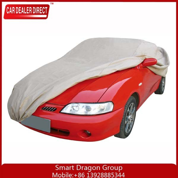 large size L heavy duty sun uv resistant rain protection waterproof car cover
