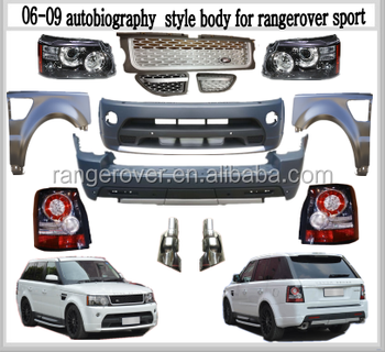 07 autobiography style bodykit for 07range=rover sport