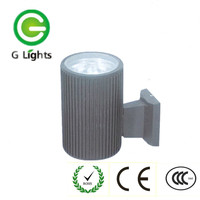 Good quality 5w modern outdoor led up and down wall lighting