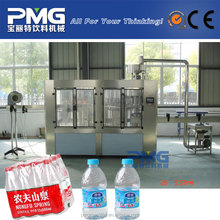 Automatic 3-in-1 bottled drinking water filler / filling machine