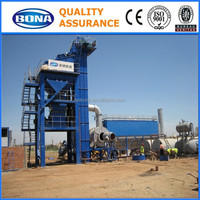 Drum mixing asphalt plant for paving road in Indonesia