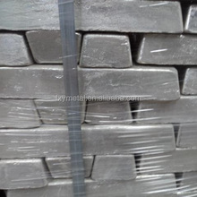 Silvery white Lead ingot 99.99% used for babbitt in industries