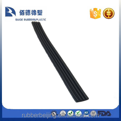 E shape anti smoke intumescent door seal stripes rubber