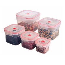 Square Airtight Vacuum Plastic Food Container