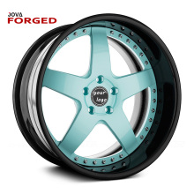 Customize 15 16 17 18 19 20 21 22 24 Inch New Design Forged 2 Pieces Rims