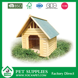 Creative Design Stocked sell well painted wooden dog kennel