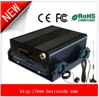 H.264 3G Car DVR with CMS Software