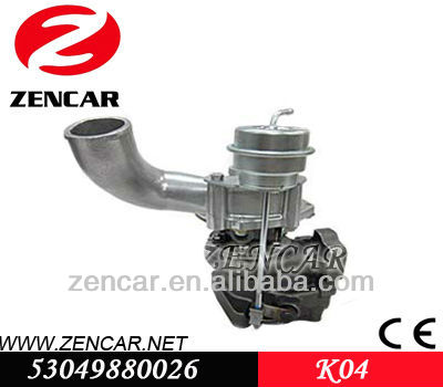 Replacement k04 kkk Turbo charger for Audi RS4 Car with ASJ / AZR Engine 53049880026