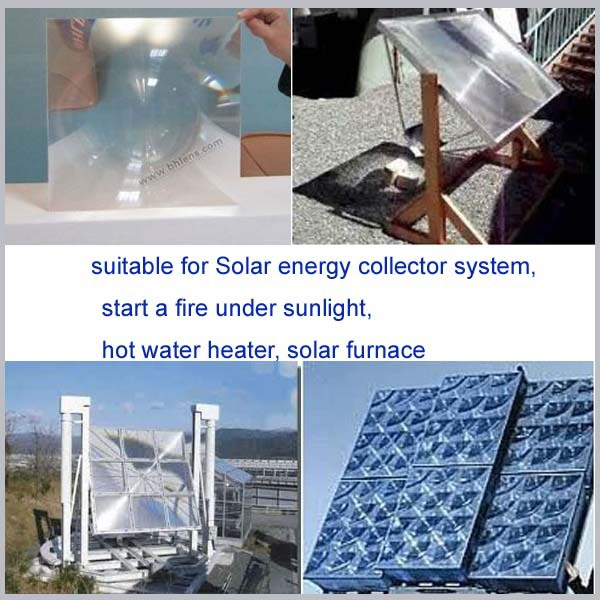 BHPA880-2 Linear Fresnel TV Lens Solar Oven Solar Hot Water Solar Project