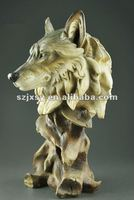 Morden Handmade Dog Statue Head