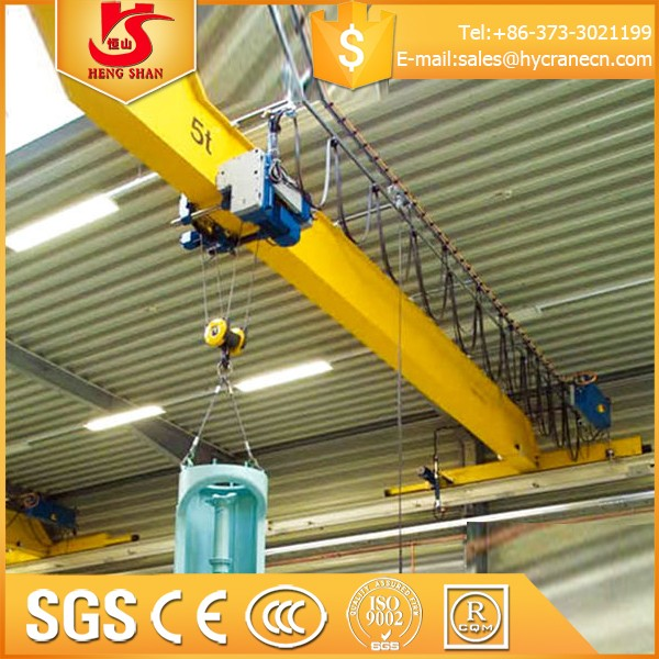 Single Beam 10 ton overhead bridge crane