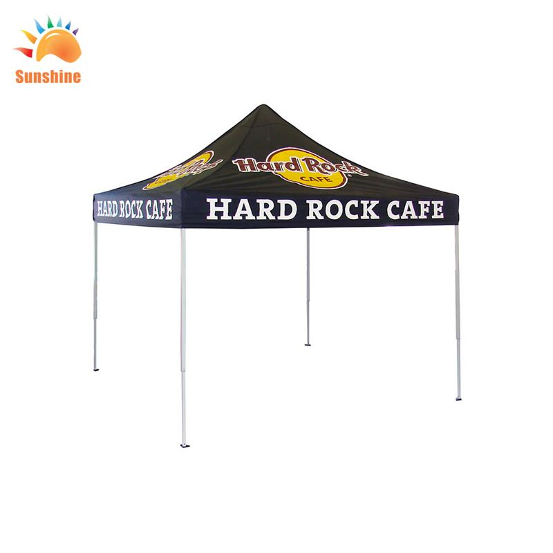 Plastic High quality with great price 10x10 folding advertising canvas canopy tent