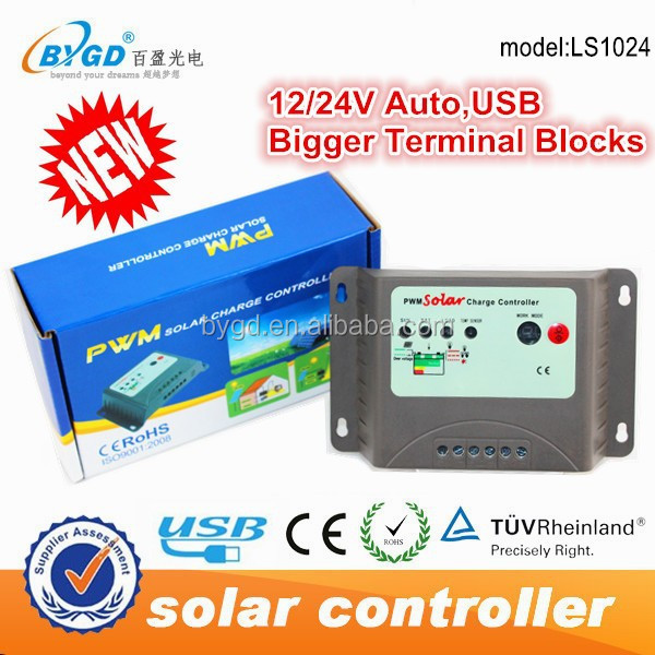 outback 10a solar load charge controller types
