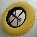 "10"" manufacturerpu foam wheels 260x85 garden barrow weels 3.00-4 3.00-8, 3.50-4, 3.50-6,3.50-7, 3.50-8, 4.00-6, 4.00-8"