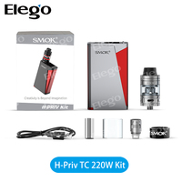 Elego Stock Offer SMOK H-Priv TC 220W Full Kit With Replaceable Cell & Magnetic Battery Cover