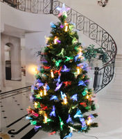 Manufacturer Supply Led Optical Fiber Unique Artificial Christmas Trees for Christmas Decoration