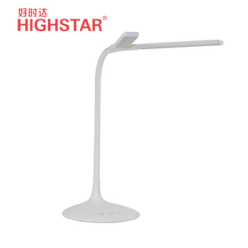 2018 new arrival two in one led table lamp free angle adjustment desk lamp with dimmer light