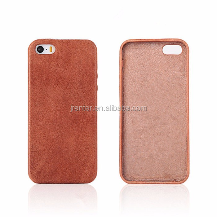 Design Phone Cover for iPhone 4s Genuine Leather OEM for iPhone 4 Cover