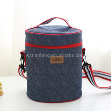 Promotional Outdoor Polyester Cans Wine Lunch Insulated Cooler Bag